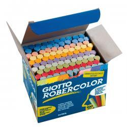 Scatola 100 gessetti tondi - colorati - Giotto