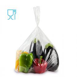Sacchetti Rex per alimenti - politene - trasparente - 30 micron - 20x30 cm - Gandolfi - conf. 50 pezzi