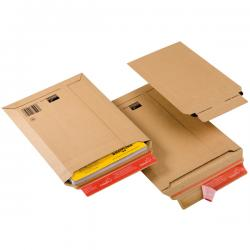 Busta a sacco CP 010 in cartone - adesivo permanente - formato A3 (340x500 mm) - altezza massima 50 mm - ColomPac®
