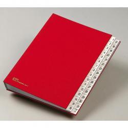 Classificatore numerico 1/31 - 643D - 24x34 cm - rosso - Fraschini