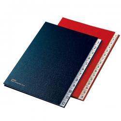 Classificatore numerico 1/12 - 24x34 cm - rosso - Fraschini