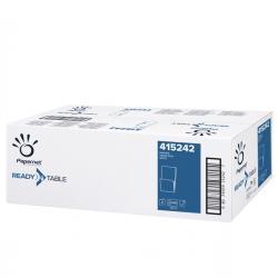 Tovagliolini bar - 17x17 cm - 1 velo - bianco - Papernet - conf. 2000 pezzi