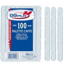Palette per caffè - polistirene - Dopla - conf. 100 pezzi