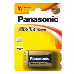 Blister pila Transistor - 9V - alcalina - Panasonic