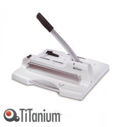 Taglierina a leva alti spessori 3949 - 459x503x508 mm - 360 mm (A4) - capacità taglio 50 fg - con blocca lama - grigio -Titanium