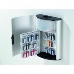 Cassetta portachiavi da parete Key Box Plus - 30,2x40x11,8 cm - 54 posti - grigio -Durable