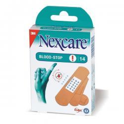 Cerotti emostatici assortiti Blood Stop - Nexcare - scatola da 14 pezzi