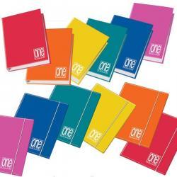 Raccoglitore One Color - 26x32cm - 4anelli - dorso 4cm - Blasetti