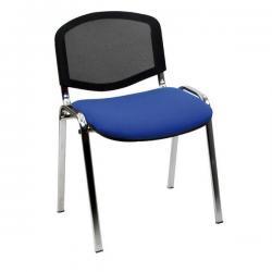 Sedia attesa Dado D5CN - senza braccioli - blu - Unisit