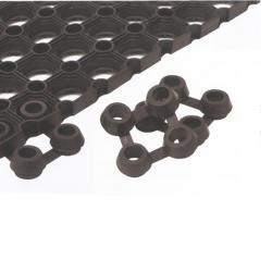 Connettori per tappeto in gomma Best - Velcoc - Conf. 25 pezzi