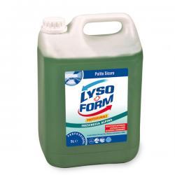 Detergente disinfettante per pavimenti - Freschezza alpina - Lysoform - tanica da 5 lt