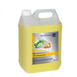 Sgrassatore per pavimenti - limone - Svelto - tanica da 5 lt