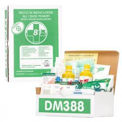 Kit di reintegro pronto soccorso Allegato 1 - senza sfigmomanometro