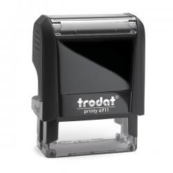 Timbro Original Printy 4.0 4911 - autoinchiostrante - personalizzabile - 38x14 mm - 4 righe - Trodat