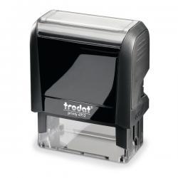 Timbro Original Printy 4.0 4912 - autoinchiostrante - personalizzabile - 47x18 mm - 5 righe - Trodat