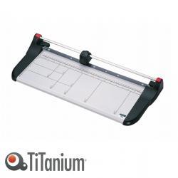 Taglierina a lama rotante 3216 - A3 - 460 mm - taglio lineare - capacità taglio 7 fg - bianco/nero - Titanium