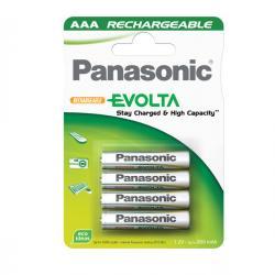 Blister 4 pile Ministilo Infinium ricaricabili AAA - 1,2V - Panasonic