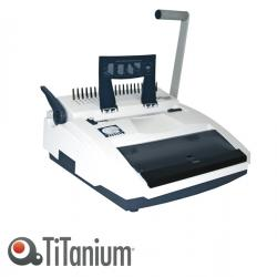Rilegatrice C21/W34 - manuale - multifunzione - Titanium