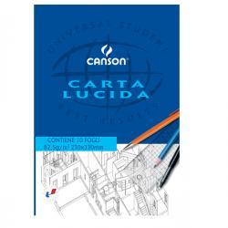 Blocco carta lucida - 230x330mm - 10fg - 80gr - uso manuale - Canson