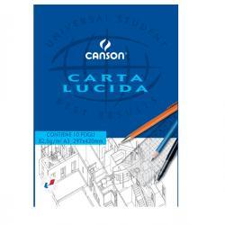 Blocco carta lucida - 297x420mm - 10fg - 80gr - uso manuale - Canson