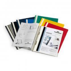 Cartellina ad aghi Duraplus - copertina personalizzabile - 21x29,7 cm - bianco - Durable
