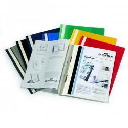 Cartellina ad aghi Duraplus - copertina personalizzabile - 21x29,7 cm - blu - Durable