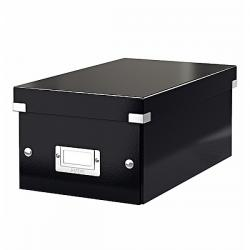 Scatola archivio Click & Store - per DVD - 20,6x14,7x35,2 cm - nero - Leitz