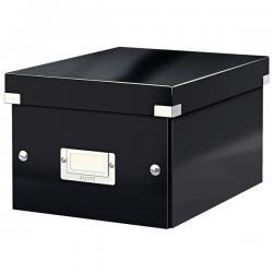 Scatola archivio Click & Store - 22x16x28,2cm (A5) - nero - Leitz