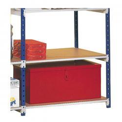Set scaffali - 5 ripiani - in legno - 100x35cm - Paperflow