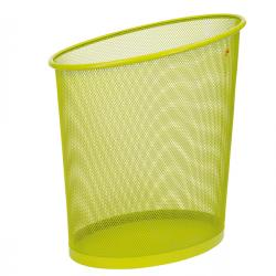 Cestino gettacarte Mesh - rete metallica - 18 lt - verde - Alba