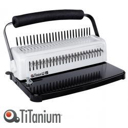 Rilegatrice U15 - manuale - Titanium