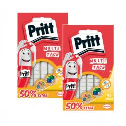 Gommini adesivi Multi Tack - riutilizzabili - bianco - Pritt - conf. 95 pezzi