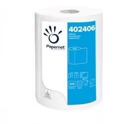 Rotolo asciugatutto professionale - 2 veli - goffratura a onda - 309 strappi - Papernet - conf. da 2 pezzi