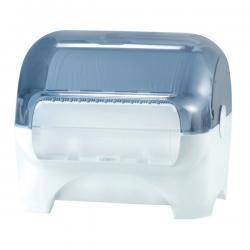 Dispenser carenato da banco Wiperbox per bobine asciugatutto - Mar Plast