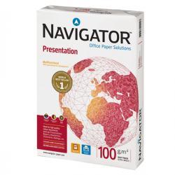 Carta Presentation 100 - A4 - 210 x 297mm - 100gr - Navigator - conf. 500fg
