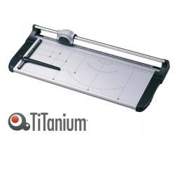 Taglierina a lama rotante 3020 - A2 - 670 mm - taglio lineare - capacità taglio 12 fg - grigio/nero - Titanium