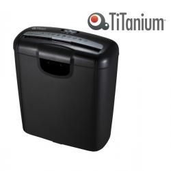 Distruggidocumenti 601S - strisce - 10L - Titanium
