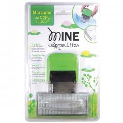 Timbro Mine per tessuti - autocomponibile - autoinchiostrante - 14x38 mm - Colop