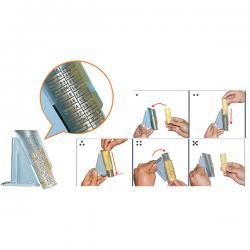 Tubi per contamonete CM018/CM020 - trasparente - HolenBecky - conf. 8 pezzi