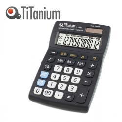 Calcolatrice da tavolo - 73032 - 12 cifre - Titanium