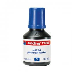Marcatore - blu - 30ml - inchiostro permanente - Edding