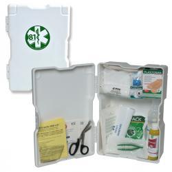 Armadietto di pronto soccorso 1/P - bianco - fino a 2 persone - PVS