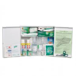 Armadietto di pronto soccorso 102/P - plastica - bianco - oltre 3 persone - PVS