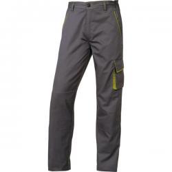 Pantalone da lavoro Panostyle® M6PAN - sargia/poliestere/cotone - taglia L - grigio/verde - Deltaplus