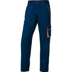 Pantalone da lavoro Panostyle® M6PAN - blu/arancio - taglia XL - Delta Plus