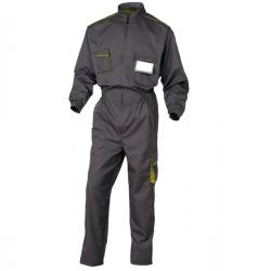 Tuta da lavoro Panostyle® M6COM - sargia/poliestere/cotone - taglia XL - grigio/verde - Deltaplus