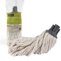 Mop Filocontinuo - cotone - bianco - 200 g - Perfetto
