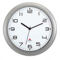 Orologio da parete Hornew - diametro 30cm - grigio metal - Alba