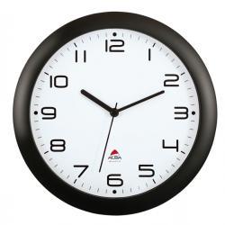 Orologio da parete Hornew - diametro 30cm - nero - Alba