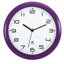 Orologio da parete Hornew - diametro 30cm - viola - Alba